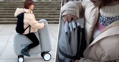 Japanese Researchers Unveil Inflatable E-Bike That Fits Inside Backpack