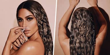 Kim Kardashian's Photoshop Fail Left A Third Hand Coming Out Of Her Head