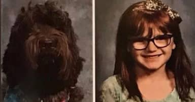 Kentucky School Surprised Little Girl By Including Photo Of Her Service Dog In Yearbook