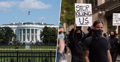 White House Put On Lockdown As Protests Grow Across America