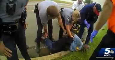 Oklahoma Man Told Police He Couldn't Breathe Before Dying In Newly Released Bodycam Footage
