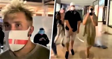 Jake Paul Hits Back After He's Filmed At Arizona Mall Being Looted And Trashed