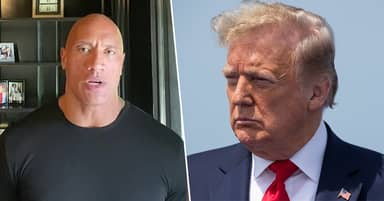 The Rock Condemns Trump's Absentee Leadership In Powerful Speech