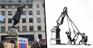 Banksy Proposes New Statue To Make 'Everyone Happy'
