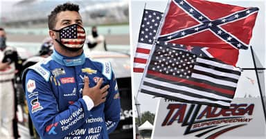 NASCAR Investigating After Noose Found In Bubba Wallace's Garage