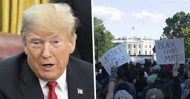 Black Lives Matter Suing Donald Trump Over Use Of Force Against White House Protesters