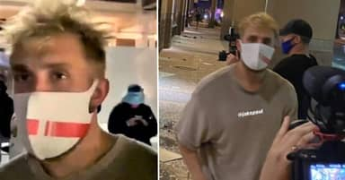 YouTuber Jake Paul Charged With Criminal Trespassing And Unlawful Assembly