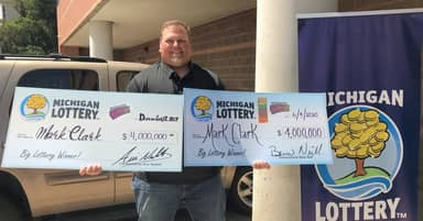 Michigan Man Wins $4 Million Lottery Jackpot For Second Time