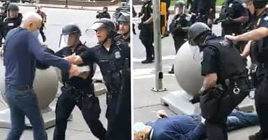 Buffalo Mayor Byron Brown Says Pensioner Pushed To Ground By Police Was An 'Agitator'