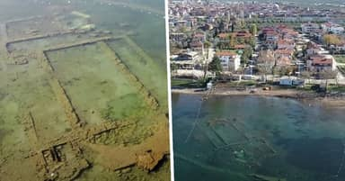 Church Hidden Under Turkish Lake For 1,600 Years Reappears As Water Pollution Clears