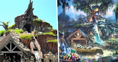 Disney Changing Splash Mountain's 'Racist' Theme To The Princess And The Frog