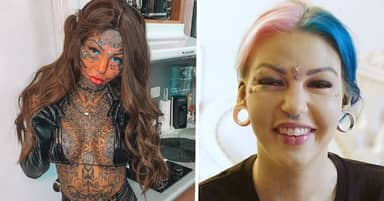 Australian Woman Who Spent $120,000 On Body Modifications Covers Tattoos To See Herself Again