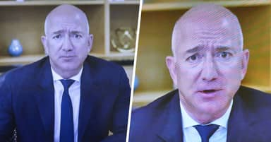 Jeff Bezos Snacked And Muted His Mic During Big Tech Antitrust Hearing