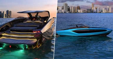 Lamborghini Has Made A $3.4 Million Yacht That Looks Like A Supercar