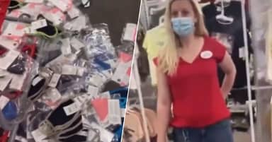 Arizona Police Find Woman Who Destroyed Face Mask Display In Target