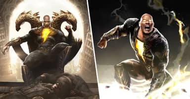 The Rock Gives Us Our Best Look Yet At Black Adam