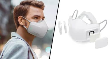 LG Officially Announces Battery-Powered Air Purifier Mask