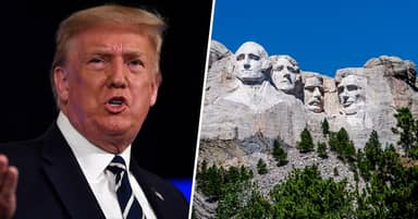 White House Asked About Getting Trump's Face Added To Mount Rushmore