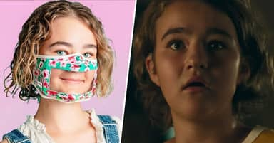 A Quiet Place Star Millie Simmonds Designs Clear Mask To Help Lip-Reading Deaf People