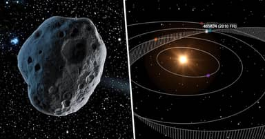 NASA Tracking Asteroid Twice As Big As Great Pyramid Heading Towards Earth