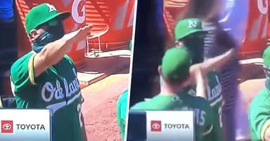 Baseball Coach Apologises For Nazi Salute, Claims He Was Social Distancing