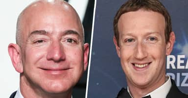 Amazon's Jeff Bezos And Facebook's Mark Zuckerberg Both Got $7 Billion Richer In A Single Day