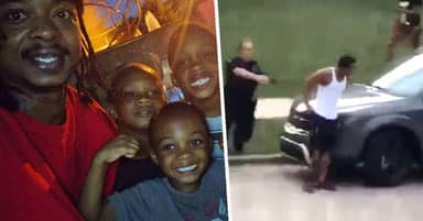 White Police Officer Shoots Unarmed Black Man Seven Times In Front Of His Kids In Wisconsin