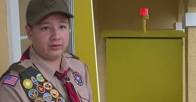 Florida Boy Scout Creates Device To Help Save People From Drowning