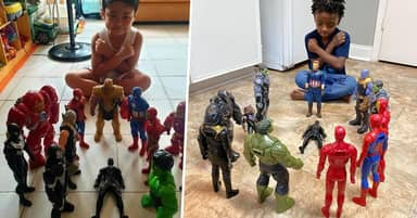 Kids Honour Chadwick Boseman With Action Figure Memorials