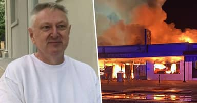 Grocery Store Owner Set Fire To His Own Shop To 'Kill' Coronavirus Germs