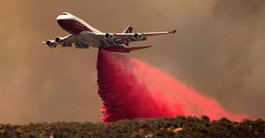 Retired Passenger Aeroplanes Are Now Fighting Fires Around The World