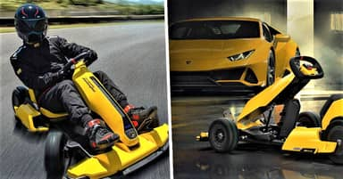 Lamborghini Creates $1,400 Electric Go-Kart That's Perfect For Drifting