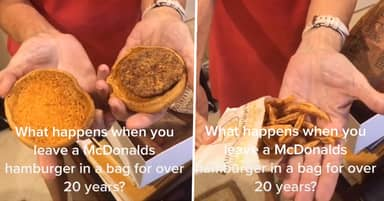 Woman Keeps McDonald's In Box For 24 Years And It Still Looks Fresh