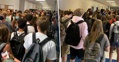 Teen Suspended From School For Posting Photo Of Packed Hallways