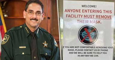 Florida Sheriff Forbids His Employees And Visitors From Wearing Face Masks