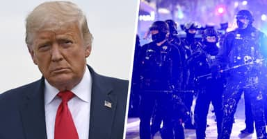 Trump Says Cops 'Gotta Be Able To Fight Back' Against Protesters As He Vows To Protect Them