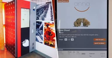 Weed Vending Machines Are Coming To America Next Month