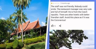 Man Facing Jail After Leaving Negative Hotel Reviews In Thailand