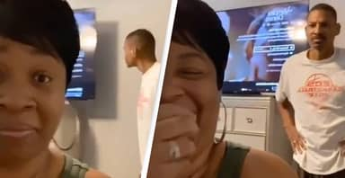 Women Hilariously Prank Their Partners By Playing The Monday Night Football Theme