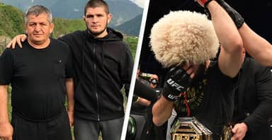 Khabib Nurmagomedov Pays Emotional Tribute To Father While Retiring From UFC