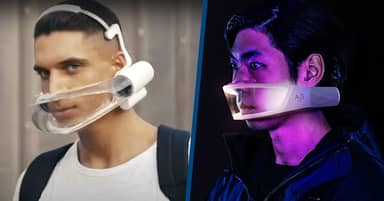 Cyberpunk Facemask Could Be Alternative To Traditional COVID-19 Masks