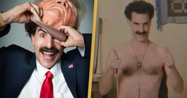 Borat Comes Out As Real Donald Trump After Stripping On TikTok