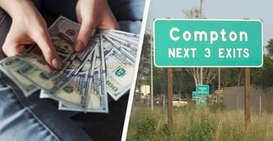 Compton Residents To Get Free Cash For Two Years In New Scheme