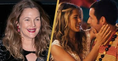 Drew Barrymore Wants To Make Ultimate Rom-Com With Adam Sandler And Jennifer Aniston