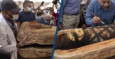 Archaeologists Receive Massive Backlash For Opening 59 Ancient Egyptian Coffins
