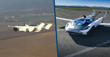 Incredible Test Flight Footage Shows Flying Sports Car Taking To The Skies