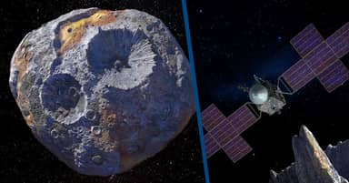 NASA Is Planning A Mission To An Enormous Metallic Asteroid Worth $10,000 Quadrillion