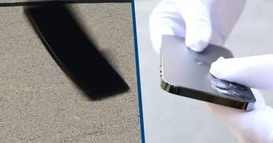 Investigators Drop iPhone 12 To See How 'World's Toughest Smartphone Glass Performs'