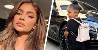 Kylie Jenner Gives 2-Year-Old Daughter $12,000 Backpack For First Day Of School