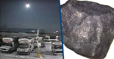 Fireball Meteorite That Fell To Earth In 2018 Contains Extraterrestrial Compounds